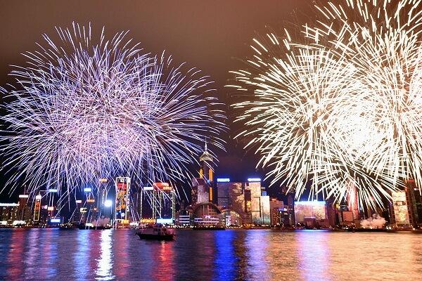 China New Years Eve
