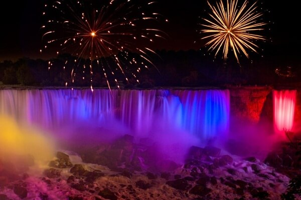 How to Watch Niagara Falls New Years Eve 2021 Fireworks Live Streaming