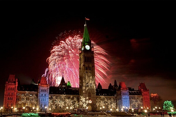 How to Watch Ottawa New Years Eve 2021 Fireworks Live Streaming