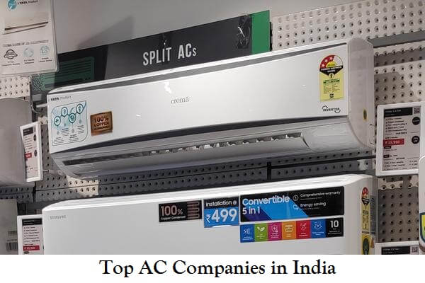 Top AC Companies in India